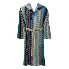 buy missoni home giacomo hooded bathrobe 170 amara