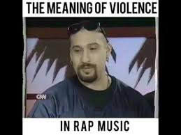 Rap Music Meme - b real of cypress hill talking about violence in rap music on a cnn