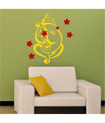 chipakk yellow ganesha wall sticker buy chipakk yellow ganesha chipakk yellow ganesha wall sticker