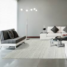 Modern White Rugs by Stylish And Modern Low Pile Area Rug In Cream Icustomrug