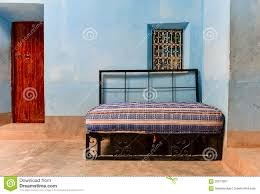 Sofa Bed Design Interior Moroccan House Interior Sofa Bed Stock Photo Image 56317601