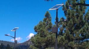 Solar Power Street Light by Outdoor Led Lighting Solar Lighting Greenshine New Energy