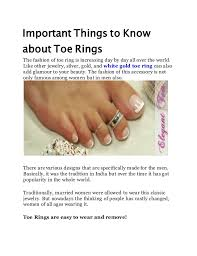 about toe rings images Important things to know about toe rings jpg