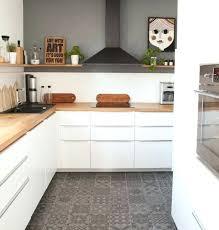 cuisine couleur gris cuisine blanche et grise cuisine joliment arrangée exemple de