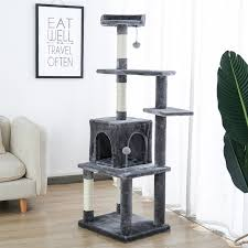 solid wood kitchen cabinets quedgeley 57 deluxe cat tree condo cat tree house scratching post cat climbing frame cat furniture