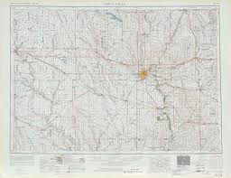 Map Of Sd Sioux Falls Topographic Maps Sd Ia Mn Usgs Topo Quad 43096a1