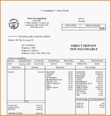 pay stub format blank invoice download microsoft word test template