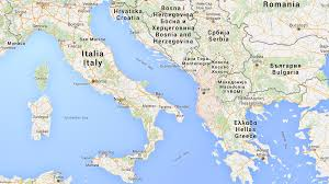 Brindisi Italy Map by Albania Country Profile From Shuttle Direct