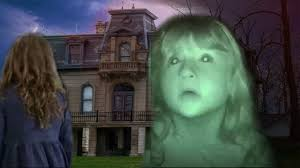 haunted house on hill scary ghosts horror video haunted maze