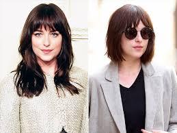 how to get dakota johnsons hairstyle dakota johnson cuts her hair into a bob what s christian grey