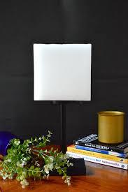 wax lamp square white designer candles shop