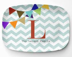 monogrammed platters and trays personalized monogram serving tray serving platter