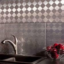 Aluminum Backsplash Tiles Osirix Interior Aluminum Backsplash In - Aluminum backsplash