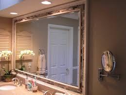 Framed Bathroom Vanity Mirrors by Bathroom Astounding Master Bathroo Mirror Ideas With Mosaic Frame