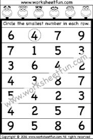 number u2013 comparing free printable worksheets u2013 worksheetfun