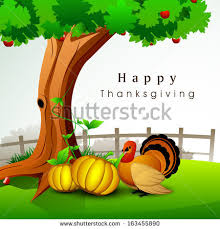 happy thanksgiving day celebration concept pumpkins stock vector