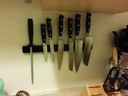 magnet for kitchen knives kitchen magnetic knife rack fridge wood holder diy best kitchen