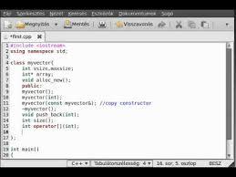 tutorial vector c c tutorial 51 make a simple vector class part 1 exle