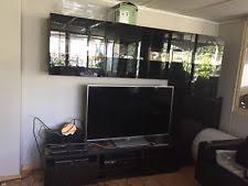 Ikea Lappland Tv Storage Unit Ikea Lappland Tv Storage Unit Black Brown Ebay
