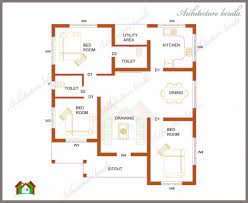 1100 Square Foot House Plans by Low Cost House Plans With Photos In Kerala Including Sq Also