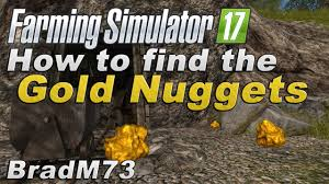 farming simulator 2017 how to find all the gold nuggets youtube