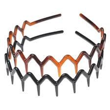 zig zag headband buy zig zag headband black tortoise 2 pack by scunci online