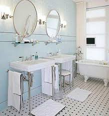 agreeable blue and white bathroom floor tile in home remodeling