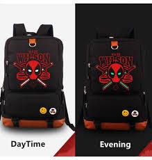 halloween marvel deadpool cosplay backpack swords red set props