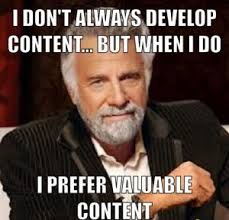 Webinar Meme - driving value every step of the webinar process elastic solutions