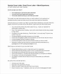 job sample cover letter cover letter in email best of how to start a cover letter for job