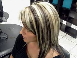 platinum blonde and dark brown highlights 502 best chunky streaks lowlights 1 images on pinterest hair