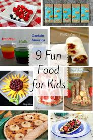 9 fun foods for kids home crafts by ali