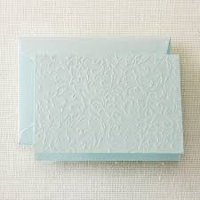 embossed stationery crane stationery glass blind embossed note pkg of 10 3