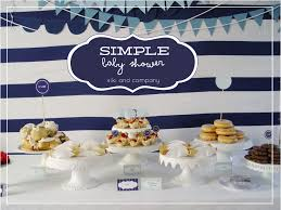 simple baby shower a simple baby shower company