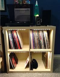 Used Ikea Furniture Shelves Creative Shelf Shelf For Vinyl Records Furniture Ideas