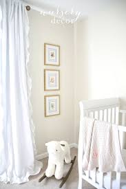 Nursery Decor Simple Beautiful Nursery Decor Ideas