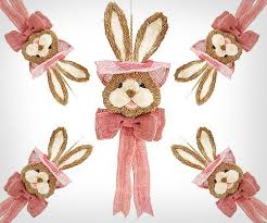 Easter Decorations For The Door by 20 Cute Easter Decorations Baskets Bunnies U0026 Eggs To Buy In 2017