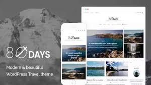 Travel Theme by Eightydays A Wordpress Travel Theme For Travel Blogs