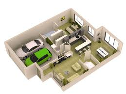 house plans with garage in basement 3d small house plans 2015 for modern home floor layout