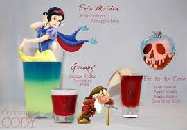 disney themed cocktails a magic kingdom of mixed drinks