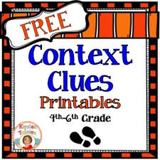 context clues free printables these context clues printables