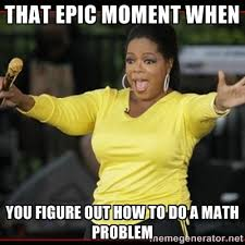 Nurse Meme Generator - overly excited oprah via meme generator math class ideas