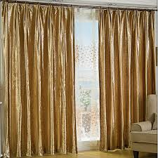 Gold Color Curtains Gold Velvet Fabric Curtains For Thermal And Blackout