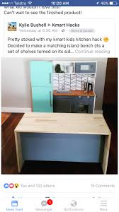 kmart kitchen hack kids activities pinterest kitchens