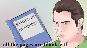 Blank Meme - all the pages are blank know your meme