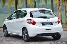 car peugeot price driven all new peugeot 208 vti tested in malaysia image 168696