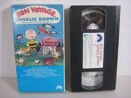 a charlie brown thanksgiving vhs vhs tape bon voyage charlie brown and don u0027t come back 1988 charles
