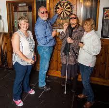 Carol Blind Uk U0027s First Blind Pub Darts Team Is Called U0027the Optimists U0027 U2013 The Sun
