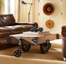 Wagon Wheel Coffee Table by Factory Cart Coffee Table Cart Coffee Table