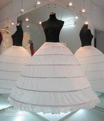 underskirts for wedding dresses in stock plus size gown 6 hoop wedding bridal petticoat